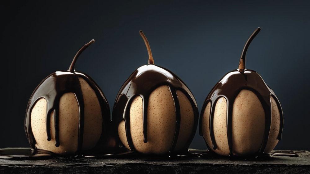 Груши в шоколаде